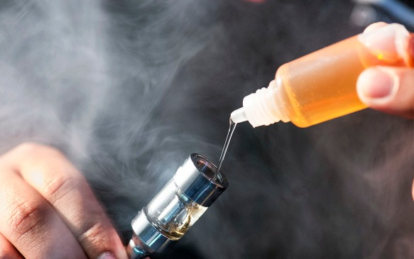 Kids' poisoning from e-cigs on the rise